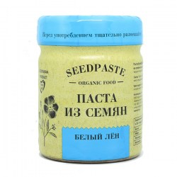 Купить Паста бутербродная натуральная из семян льна белого, Seedpaste organic food Компас Здоровья
